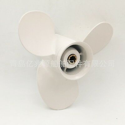 Marine Boat Yacht Aluminum Outboard Engine Propeller for Yamaha 9.9-15HP Engine