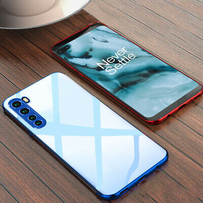 For OnePlus 6T 5T Luxury Plating Clear Shockproof Slim Soft Silicone Case Cover