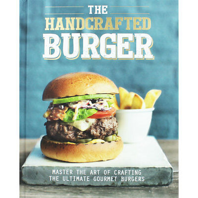 The Handcrafted Burger by Hannah Kelly (Hardback), Non Fiction Books, Brand New
