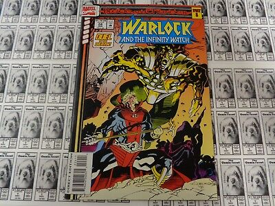 Warlock and Infinity Watch (1992) Marvel - #24, Blood and Thunder, Starlin, VF