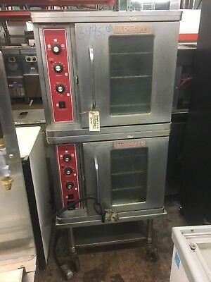 Blodgett 1/2 Half Size Double Electric Convection Oven 3phase (used)