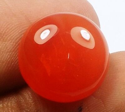 10.96 CT CARNELIAN 100% NATURAL GIE CERTIFIED AAA+ Excellent Quality Best Gem