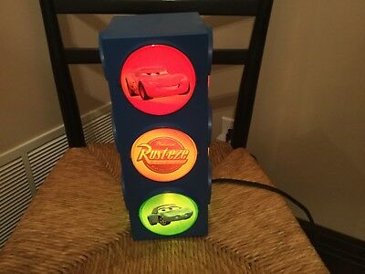 Disney Pixar Cars Stoplight Traffic Night Light Lightning Mcqueen