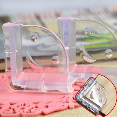 12Pcs Baby Saftey Clear Glass Desk Table Edge Corner Cushion Guard Protector