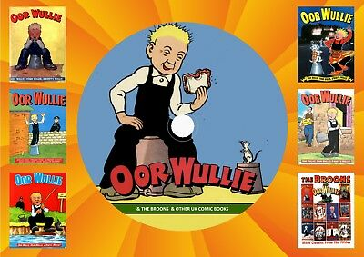 Oor Wullie – Broons & Other UK Comics On DVD Rom