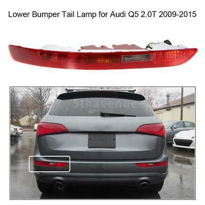 Rear Left Side Tail Light Lower Bumper Tail Lamp for Audi Q5 2.0T 2009-2015 Y4I1