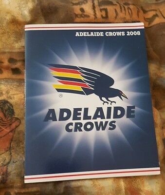 AFL Collectors Stamps Pack,  ADELAIDE CROWS,Season  2008, (Mint Condition)