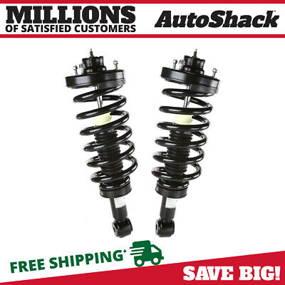 Rear Pair (2) Complete Struts Assembly w/coil springs Fits 03-06 Ford Expedition