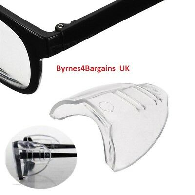 Protective side shields covers for glasses