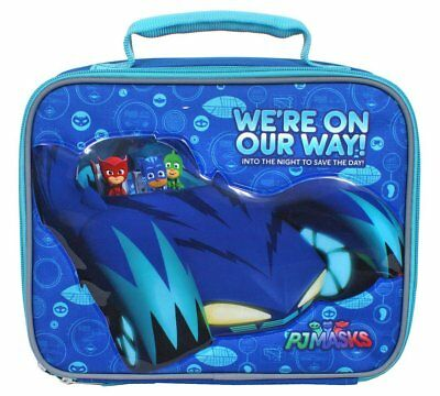 PJ Masks We're On Our Way Insulated Lunch box Tote