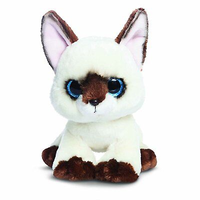 """Aurora World Candies 9"""" Rolo The Siamese Cat Kitten Soft Toy Plush New With Tag"""