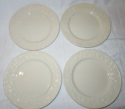Bhs Lincoln Embossed Fruits 4 X 10 Inch Dinner Plate (Barratts Lincoln )