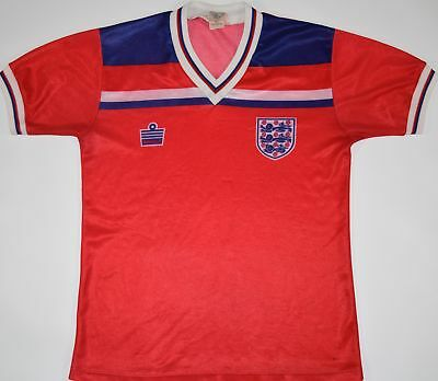 605f5362a 1980-1983 England Admiral Away Football Shirt (Size S)