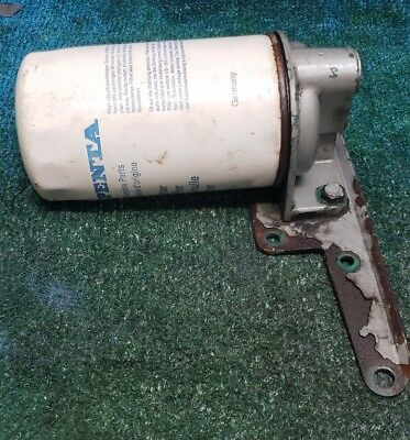 Volvo Penta D7 TAMD72A Turbo Diesel Oil Filter Housing 848509 With Bracket