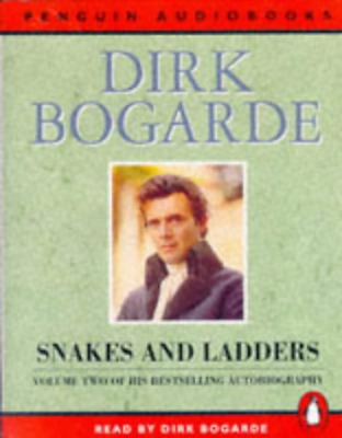 Snakes and Ladders (Penguin audiobooks), Audio Book, Good Condition, Bogarde, Di