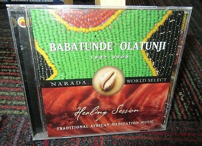 Babatunde Olatunji: Healing Session Music Cd, African Meditation 1927-2003, Guc