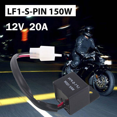 Motorcycle Flasher Relay Flasher Relay Durable Turn Signal Bulbs Hyper Flash