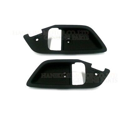 New OEM Inside Door Handle Catch Bezel Cover Set 2003-2008 Hyundai Tiburon Coupe