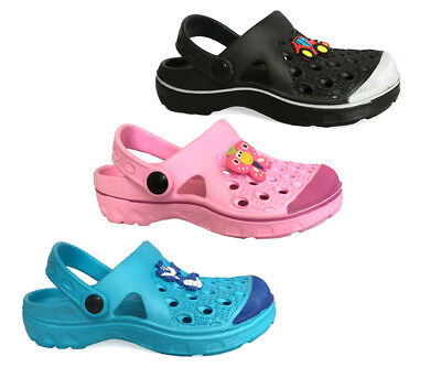 New Boys Girls' Garden Clog Shoe Beach Shower Pool Shoes Toddler Kids || 668