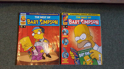 2x The Simpsons comics THE BEST OF BART SIMPSON #6 & #7