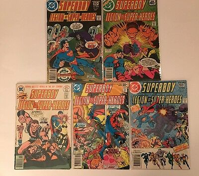 Lot Of Old Superboy And The Legion Of Super Heroes Comics