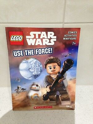 LEGO Star Wars Use the Force! SC Comics/Activities/Minifigure #1-1ST 2016 NM