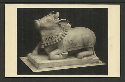 LONDON POST CARD  (circa 1930) NANDI BULL OF SIVA ~ CAWNPORE