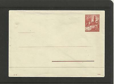 # German Post Card (Envelope) ~ General Government Poland