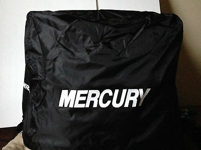Mercury Outboard Engine Cover up to  25  hp   Towable storage cover with strap