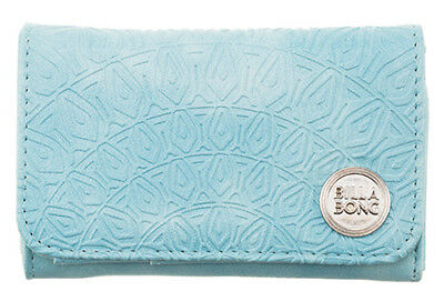 Billabong Moonstruck Wallet New Women S Pu Tags Teen Ladies Trifold Girls Aqua
