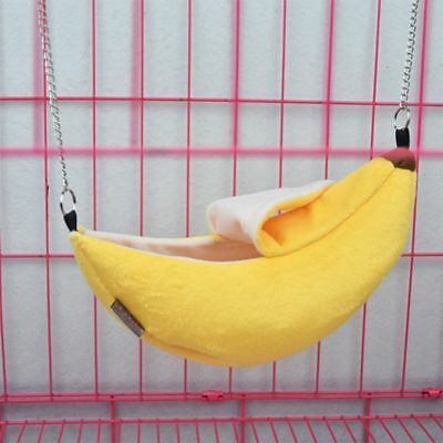 Toys Small Bed Hamster Pet Banana Hammock Cage Nest House