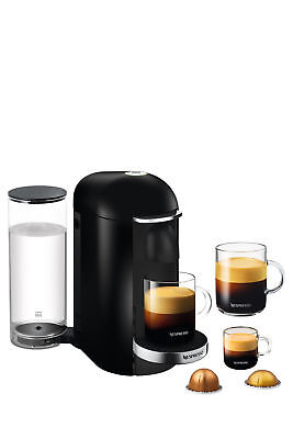 NEW Nespresso BNV420BLK Breville Vertuo Plus Black Deluxe Coffee Machine