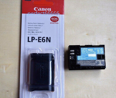Original Canon LP-E6N LPE6N Battery E6 Battery For EOS 5D2 5D3 6D 60D 70D 7D