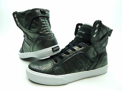 dc8a6bccaf NEW BOYS/YOUTH 3.5/WMNS 5 supra skytop pewter muska 001 sky top ...
