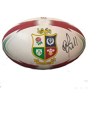 Owen Farrell Signed British & Irish Lions Rugby Ball *photo Proof See Owen Sign*