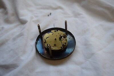 old small clock movement
