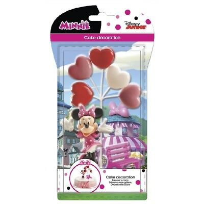 Set Topper Minnie Mouse Torten Deko Set für Fondant Torte neu