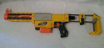 Nerf N Strike Recon CS-6 Dart Gun Blaster Rifle Shoulder Brace Clip Barrell