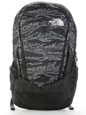The North Face Vault Backpack Nf00Chj03Np Black Tiger Camo Print/high Rise Grey