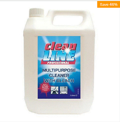 Hard Surface Cleaner With Bleach Kill Bacteria Fungi Ecoli Mrsa Listeria