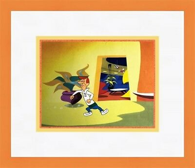 Original Hanna Barbera The Jetsons George Hand Painted Animation Production Cel