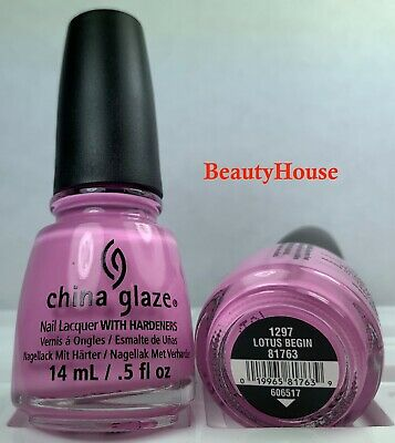 China Glaze - LOTUS BEGIN - Nail Polish Lacquer 1297 #81763 0.5oz = 15ml NEW