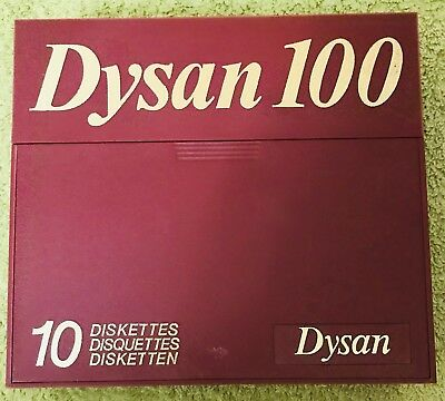 Dysan 100 Diskettes (11) - MD2HD 802607-51