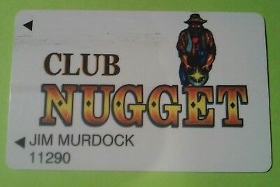 Nugget Casino Pahrump, Nevada Logo Slot Card Great For Any Collection!
