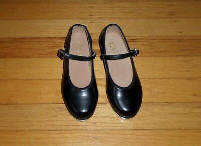 BLOCH Techno Tap Black Dance Shoes Size 10M Toddler Mary Jane