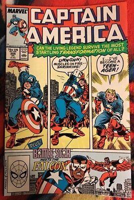 Marvel CAPTAIN AMERICA 355 VG ***$3.98 UNLIMITED SHIPPING***