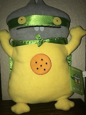 "NWT UglyDoll Pretty Ugly SDCC Power Babo 12"" Plush Toy"