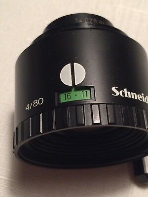 Schneider Kreuznach Componon-S 80mm f4.0 Enlarger Lens