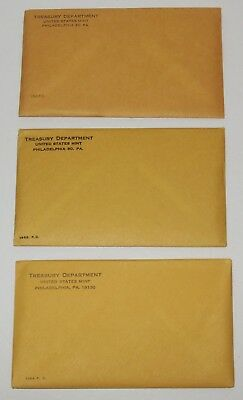 Proof Sets 1962, 1963, 1964 U.S. Mint Coins unopened 90% Silver -  FREE SHIPPING