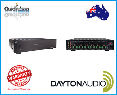 Dayton Audio MA1260 12 Channel 6 Zones  Amplifier ,Multi Room Stereo Sound